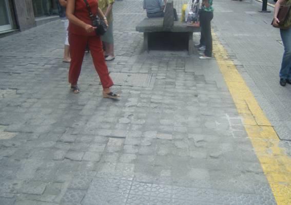 Calle Santa Clara (junto a la Plaza de Haro en la que se encuentra el Ambulatorio de Santutxu)